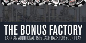 Bonus Factory was an invite only promo